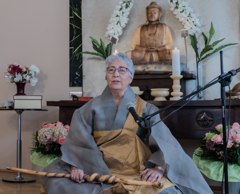 Transmission Ceremony: Hyon Ja SSN Kwan um Zen School Europe/Zen Centre Vienna Zen Centre Vienna, Sept 26, 2020