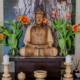 Altar. Kwan um Zen School Europe/ Zen Center Vienna. Foto: @ Jan Sendzimir 2015.